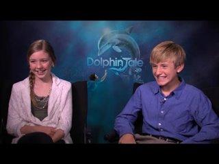 Cozi Zuehlsdorff & Nathan Gamble (Dolphin Tale)- Interview Video Thumbnail