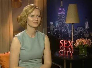 Cynthia Nixon (Sex and the City)- Interview Video Thumbnail