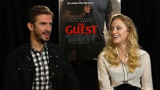 Dan Stevens & Maika Monroe (The Guest)- Interview Video Thumbnail