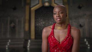 Danai Gurira Interview - Black Panther Video Thumbnail