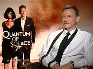 Daniel Craig (Quantum of Solace)- Interview Video Thumbnail