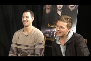 Daniel Cudmore & Charlie Bewley (The Twilight Saga: Breaking Dawn - Part 2) - Interview Video Thumbnail