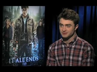 Daniel Radcliffe (Harry Potter and the Deathly Hallows: Part 2)- Interview Video Thumbnail