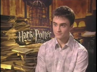 Daniel Radcliffe (Harry Potter and the Goblet of Fire)- Interview Video Thumbnail