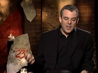 DANNY HUSTON (THE NUMBER 23)- Interview Video Thumbnail