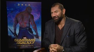 Dave Bautista (Guardians of the Galaxy)- Interview Video Thumbnail