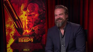 david-harbour-talks-hellboy Video Thumbnail