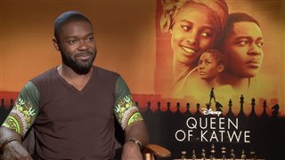 David Oyelowo Interview - Queen of Katwe Video Thumbnail