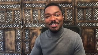 David Oyelowo talks about training for George Clooney's 'The Midnight Sky' - Interview Video Thumbnail