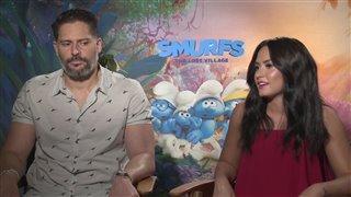 Demi Lovato & Joe Manganiello Interview - Smurfs: The Lost Village Video Thumbnail