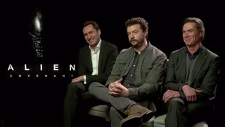 demian-bichir-danny-mcbride-billy-crudup-interview-alien-covenant Video Thumbnail