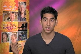 Dev Patel (The Best Exotic Marigold Hotel)- Interview Video Thumbnail