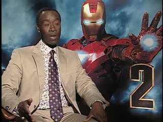 Don Cheadle. (Iron Man 2)- Interview