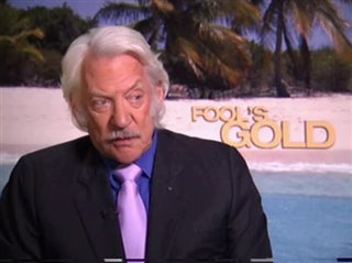 Donald Sutherland (Fool's Gold)- Interview Video Thumbnail
