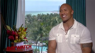 dwayne-johnson-interview-baywatch Video Thumbnail