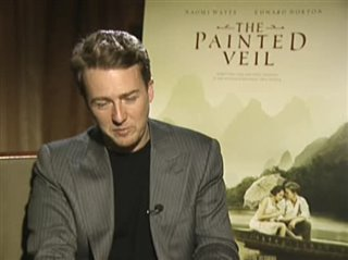 EDWARD NORTON (THE PAINTED VEIL)- Interview Video Thumbnail