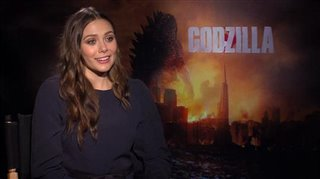Elizabeth Olsen (Godzilla)- Interview Video Thumbnail