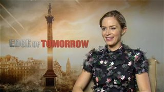 Emily Blunt (Edge of Tomorrow)- Interview Video Thumbnail