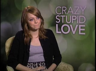 Emma Stone (Crazy, Stupid, Love.)- Interview Video Thumbnail