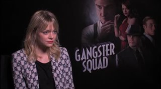 Emma Stone (Gangster Squad)- Interview Video Thumbnail