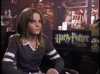 Emma Watson (Harry Potter and the Chamber of Secrets) - Interview Video Thumbnail