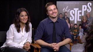 emmanuelle-chriqui-jason-ritter-interview-the-steps Video Thumbnail