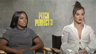 Ester Dean & Hailee Steinfeld Interview - Pitch Perfect 3 Video Thumbnail