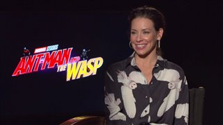 Evangeline Lilly Interview - Ant-Man and The Wasp Video Thumbnail