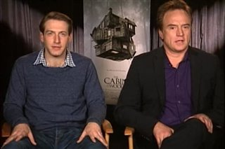 Fran Kranz & Bradley Whitford (The Cabin in the Woods) - Interview Video Thumbnail