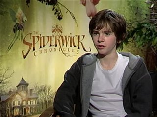 Freddie Highmore (The Spiderwick Chronicles)- Interview Video Thumbnail