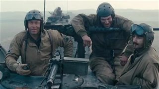 fury-featurette-brothers-under-the-gun Video Thumbnail