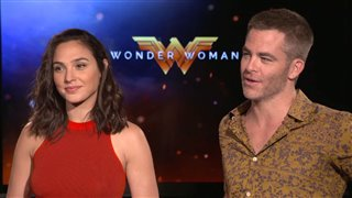 gal-gadot-chris-pine-interview-wonder-woman Video Thumbnail