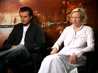 GAVIN ROSSDALE & TILDA SWINTON - CONSTANTINE- Interview Video Thumbnail