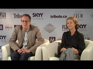 Geoffrey Rush & Charlotte Rampling (The Eye of the Storm)- Interview Video Thumbnail