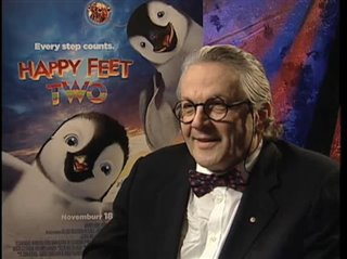 George Miller (Happy Feet Two) - Interview Video Thumbnail