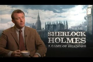 Guy Ritchie (Sherlock Holmes: A Game of Shadows) - Interview Video Thumbnail