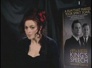 Helena Bonham Carter (The King's Speech)- Interview Video Thumbnail