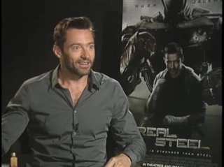 Hugh Jackman (Real Steel) - Interview Video Thumbnail