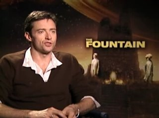 HUGH JACKMAN (THE FOUNTAIN) - Interview Video Thumbnail