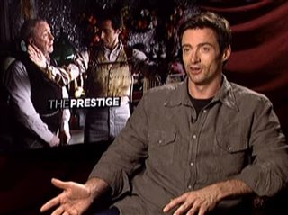HUGH JACKMAN (THE PRESTIGE) - Interview Video Thumbnail