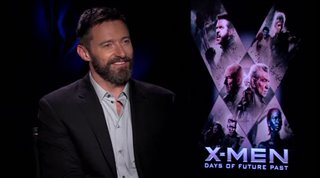 Hugh Jackman (X-Men: Days of Future Past) - Interview Video Thumbnail