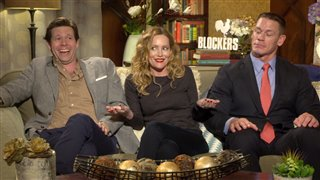 Ike Barinholtz, Leslie Mann & John Cena Interview - Blockers Video Thumbnail