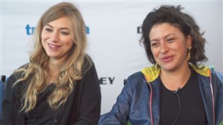 Imogen Poots & Alia Shawkat - Green Room- Interview Video Thumbnail