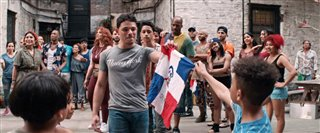 """IN THE HEIGHTS Movie Clip - """"Fly This Flag"""" Video Thumbnail"""