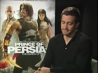 Jake Gyllenhaal (Prince of Persia: The Sands of Time)- Interview Video Thumbnail