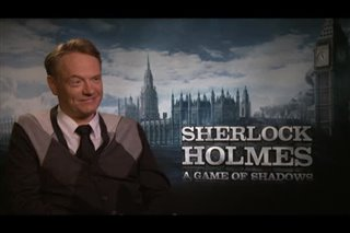 Jared Harris (Sherlock Holmes: A Game of Shadows) - Interview Video Thumbnail