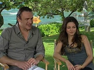 Jason Segel & Mila Kunis (Forgetting Sarah Marshall)- Interview Video Thumbnail