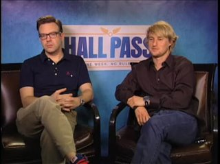 Jason Sudeikis & Owen Wilson (Hall Pass)- Interview Video Thumbnail