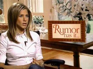 JENNIFER ANISTON (RUMOUR HAS IT...)- Interview Video Thumbnail