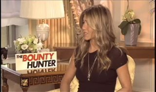 Jennifer Aniston (The Bounty Hunter) - Interview Video Thumbnail
